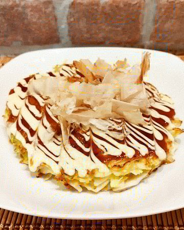 Okonomiyaki pancetta