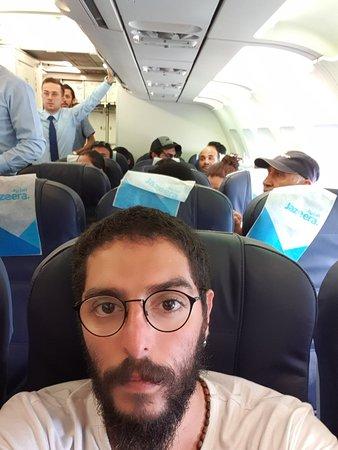 طيران الجزيرة: This is their plane from Tbilisi to Kuwait its the worst ever flight in my life
