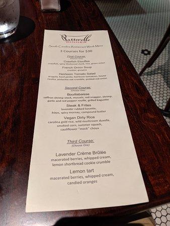 Restaurant Week with Crawfish Etouffee, Steak Frites, & Crème Brûlée