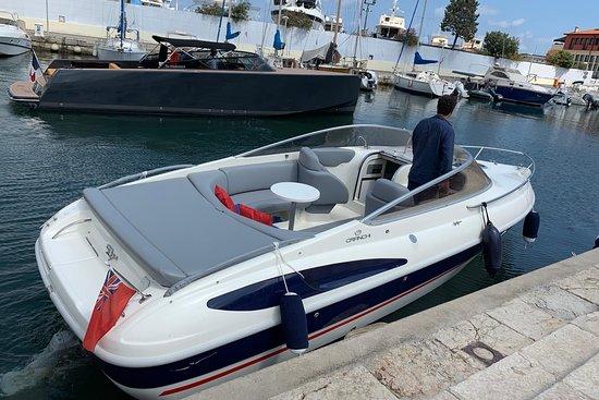 Côte D'Azur private boat service