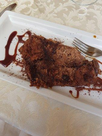 torta cosi arrivata caffe cioccolata