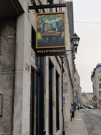 View of outside sign to W&W
