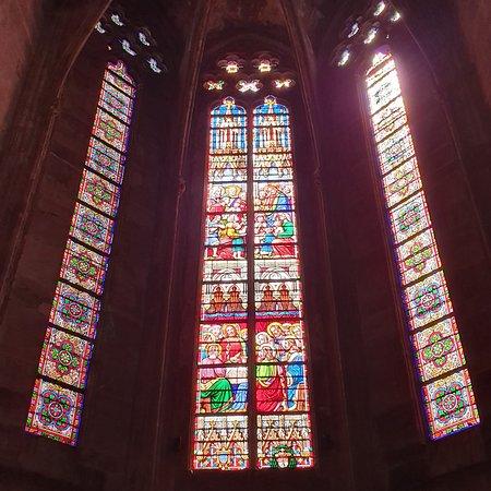 Cathédrale Notre Dame de Rodez: Vitraux Originaux