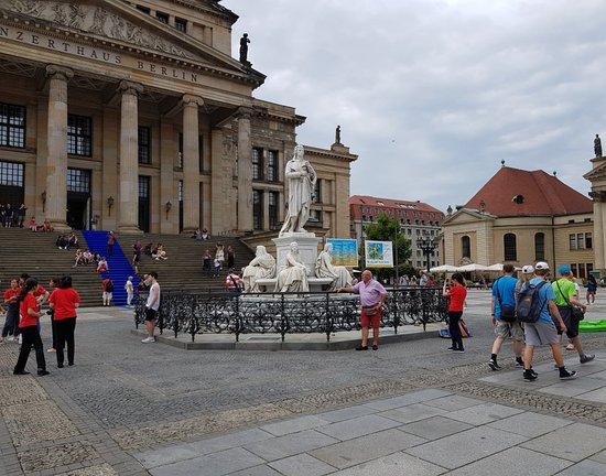 Schiller Monument in Mitte district