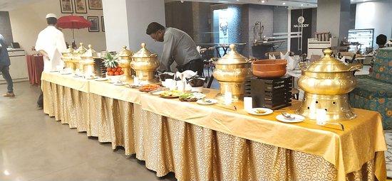 Spl Weekend Buffet Set Up at Regency Tirunelveli by GRT Hotels