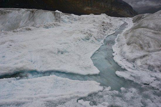 Glacier surface