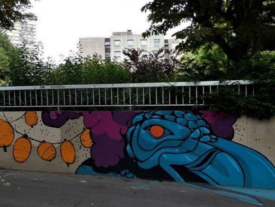 """Fresque """"Carnaval de la Bièvre-03"""""""