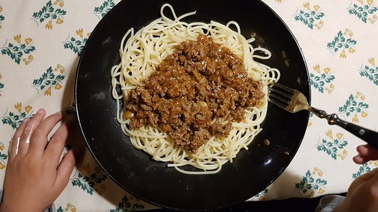 Salonta, โรมาเนีย: spagetti