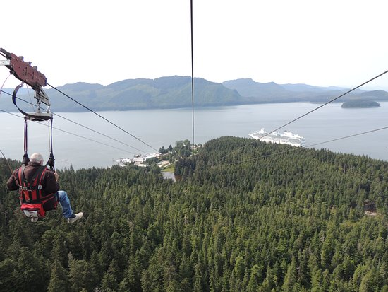 Magnificent view from the Zip Rider.