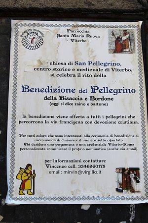 Viterbo, Olaszország: Per i pellegrini