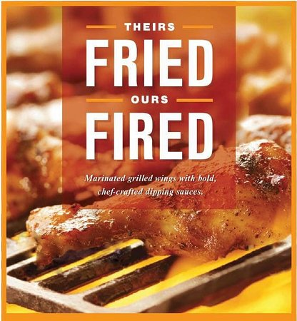 Everything is grilled, nothing is fried ... !