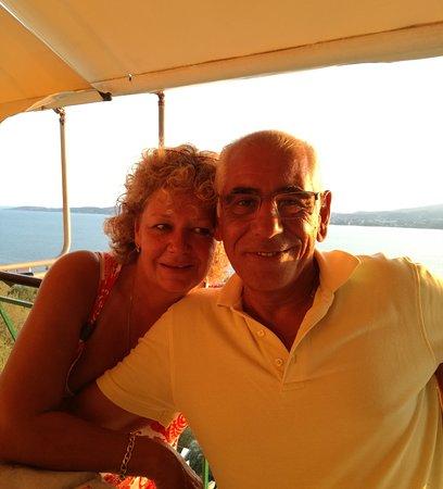 Die nette Besitzer - Gabi und Nico Basigos :