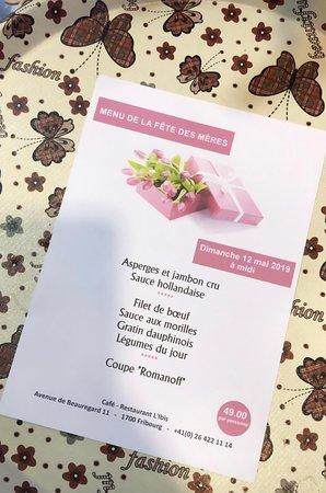 Cantón de Friburgo, Suiza: Lors des événements nous proposons des menus