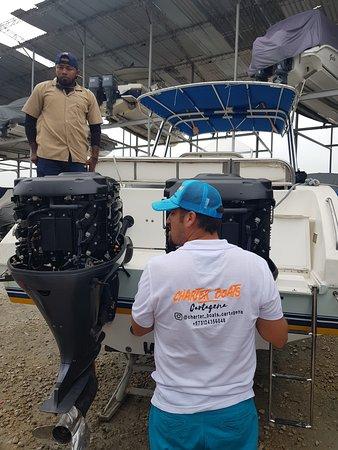 @charter_boats_cartagena lo mejor en renta de botes en cartagena.