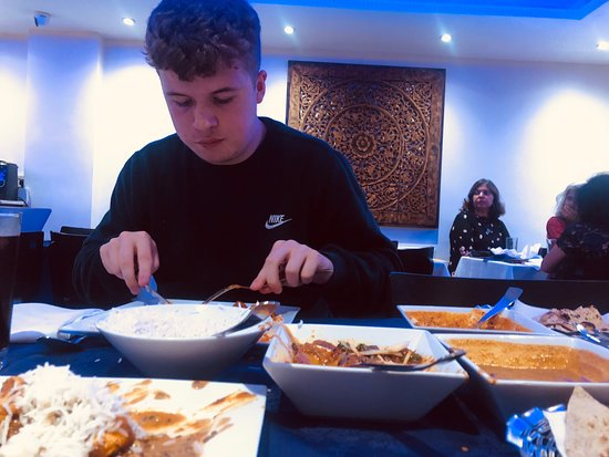 Excellent local curry house