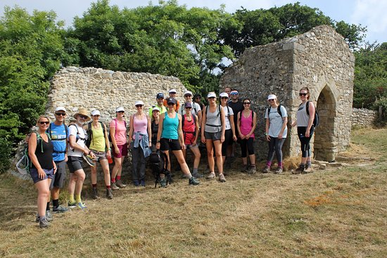 Jurassic Coast Guides: A charity walk that we organised