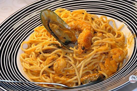 Kokoras Restaurant: SEAFOOD SPAGHETTI 