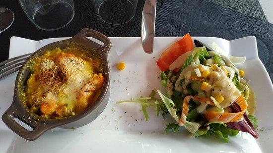 Beaumont Pied De Boeuf, Fransa: Écrevisses au curry