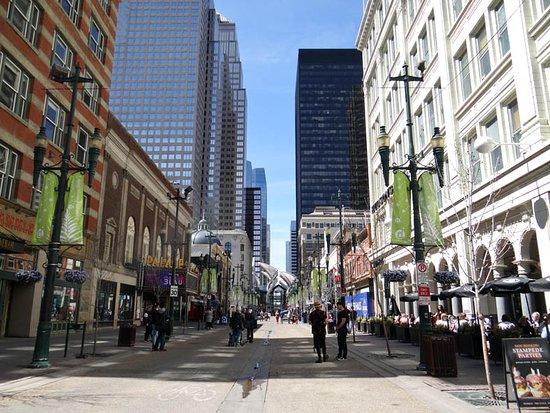 Stephen Avenue Walk: Stephen Avenue