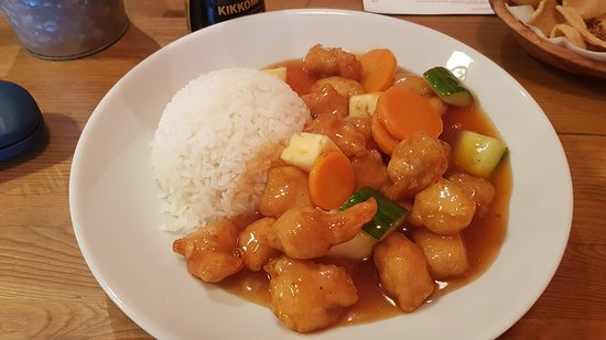 SOBA Asian street food: Sweet & Sour Chicken