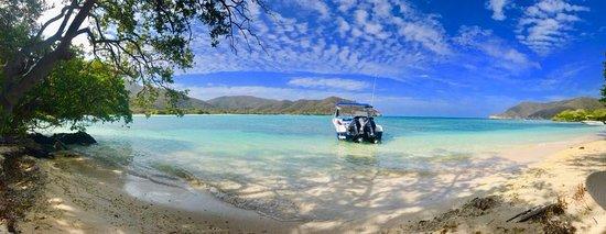 Deserted paradises aboard Samoa