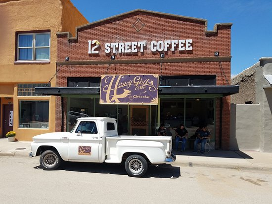410 12th Street in Carrizozo NM. Don't just zoom down Highway 54 through Carrizozo! Stop and get a delightful fix!