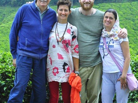 Mr. Andrea De Campo and Family enjoying Their Kerala Trip with Khidma Tourism.