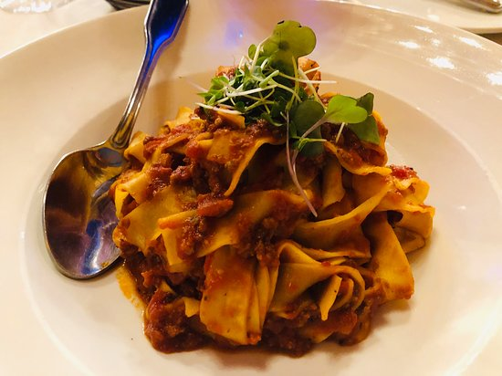 Cucina Venti Restaurant: Bolognese for our son