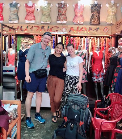 """With Ms Thao Le... """"Customers are not literally good for her business... but also for a good connection of people-to-people all over the world """""""