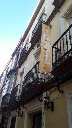 Provincia de Sevilla, España: Desde Tíntala, 'Rótulos & Fotomurales' en Sevilla Banderola Textil económica con cinchos tensores. 270x50cm.lona 550gr