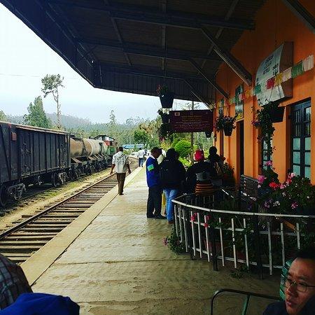 Pattipola Railway Station.
