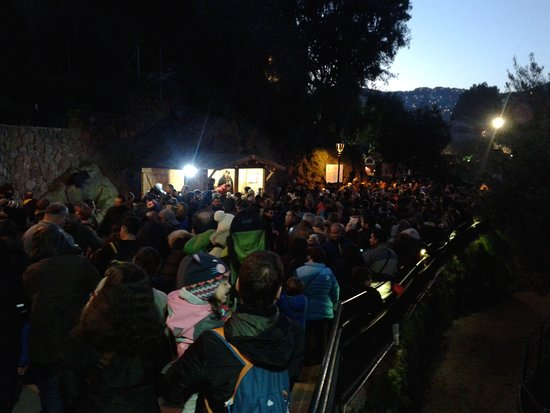 Pessebre Vivent De Corbera: A lot of people want to see the show