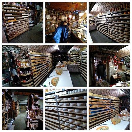 Collage dei formaggi