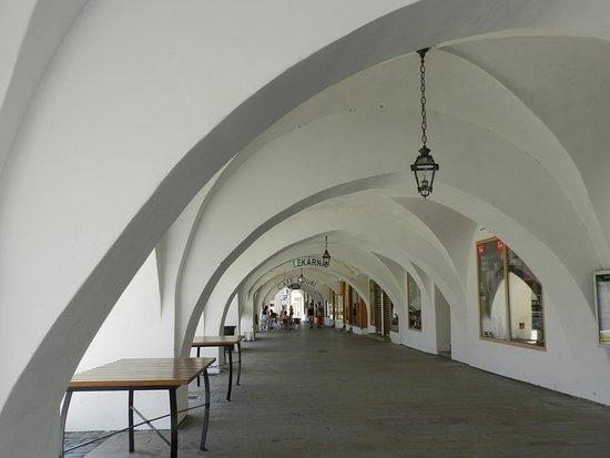 Lipnik nad Becvou, Tsjechië: podcienia ratusza