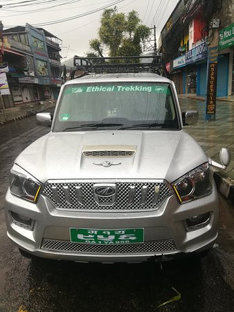 Ethical Trekking Nepal own Vehicle for Guest service