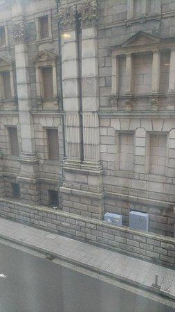 313号室からの眺望。