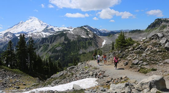 Artist Point: What an incredible hiking trail.