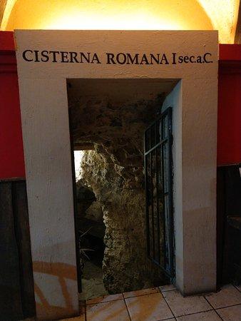 La cisterna (nella cantina)