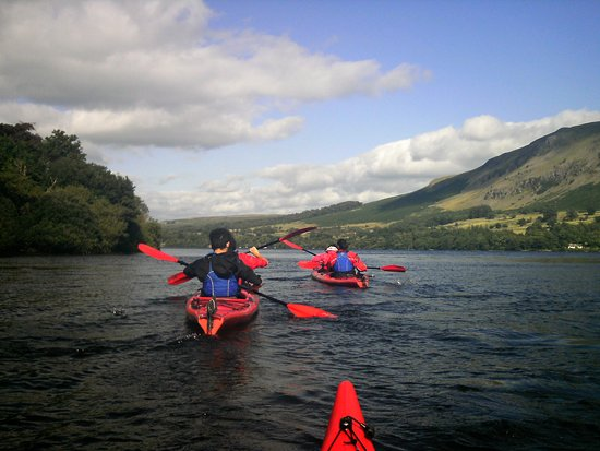 Ullswater, UK: Wonderful afternoon's Kayaking with @tallblokeadventures The briefing before we got into the Kayaks was really good and made us feel much more confident. Leigh and Patrizia proved to be excellent guides.Would have no hesitation in booking them again.