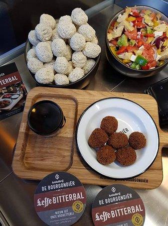 Friture ´t Trepke Spaubeek: Leffe bitterballen