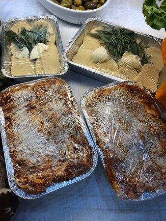 Lasagna e Gnocchi alla Romana, da infornare