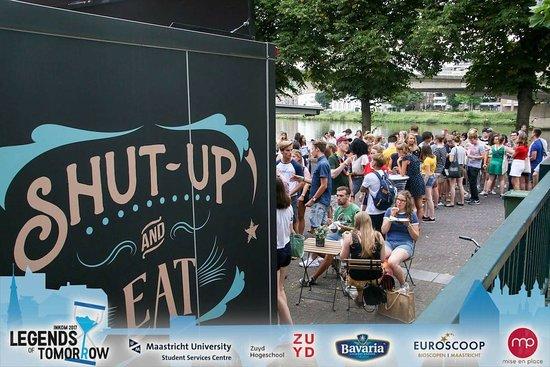 Friture ´t Trepke Spaubeek: Foodtrailer Catering Students Inkom Maastricht