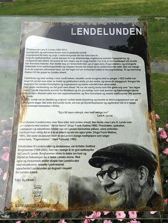 Lindenparken info sign