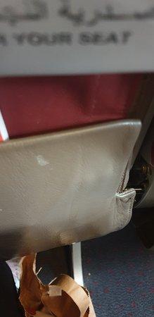 Royal Air Maroc: Null Sauberkeit und Hygiene....