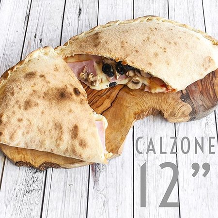 "Calzone is the favorite — not only for a relaxed weekend dinner, but also for wrapping up and eating for lunches all week long. Whether you enjoy them for lunch or dinner, they're the perfect little ""hot pockets"" (ahem!) of mozzarella, ham, mushrooms and black olives.  www.caloroso.co.uk"