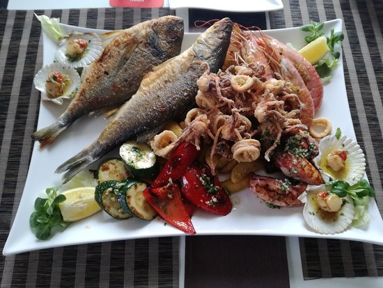 Gasthaus Geronimo: Fischplatte für Zwei :)