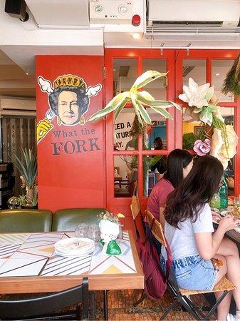 Mamaday Cafe: Interior