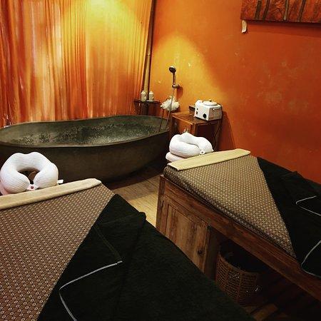 Couple massage room here in Midas Spa , Ubud , Bali
