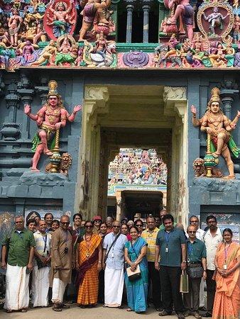 Tiruvarur District, הודו: Dikshitar and his Tiruvarur