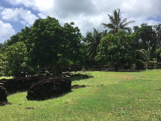 Wallis- og Futunaøyene: fort tongien